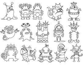 #20 untuk Funny Monster Robot Illustrations Wanted oleh mishyroach