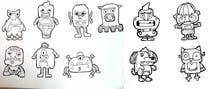 Funny Monster Robot Illustrations Wanted için Graphic Design16 No.lu Yarışma Girdisi