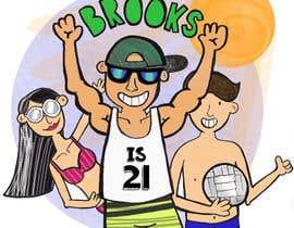brindhamenon tarafından 21st Birthday Cartoon Picture Design için no 30