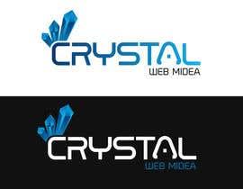 Nro 52 kilpailuun Crystal Web Media Logo käyttäjältä shemulehsan