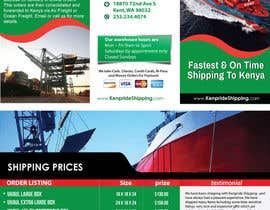 #6 for Design a Brochure for shipping company af dindinlx