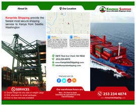 #19 for Design a Brochure for shipping company af dindinlx