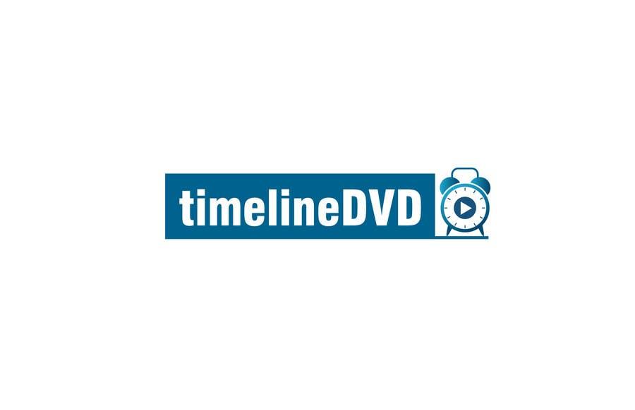 Kilpailutyö #22 kilpailussa Design a Logo for timelinedvd.com
