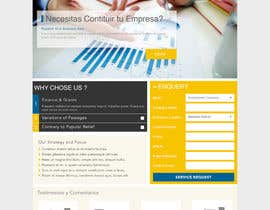 webcloud9 tarafından Landing Page (Visual Design Optimization) için no 2