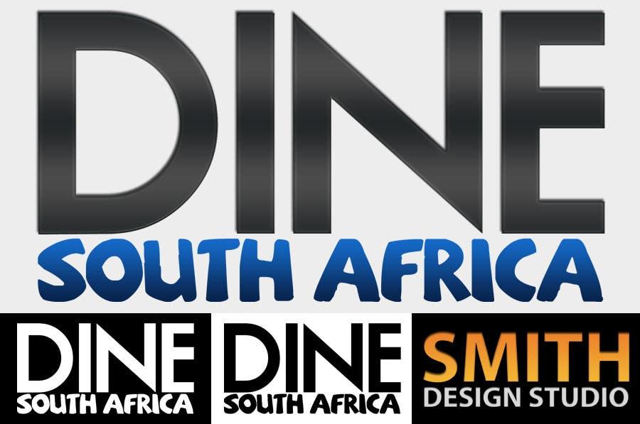 Bài tham dự cuộc thi #                                        3                                      cho                                         Logo Design for DineSouthAfrica.com