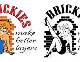 "#8 untuk Design a T-Shirt  Logo for ""Brickies make better layers"" oleh markreyes137"