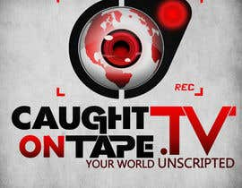 #1294 untuk Design a Logo for Caught On Tape TV oleh darkemo6876