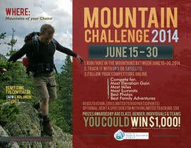 #27 untuk Design a Flyer/Poster for a Mountain Adventure Event oleh paramiginjr63