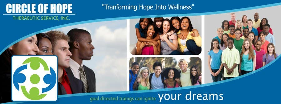 Proposition n°35 du concours Design a Facebook landing page for Circle of Hope Therapeutic Services, Inc.