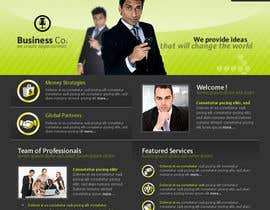 nº 32 pour Projetar a Maquete de um Website for Consulting Company par rebonmalik
