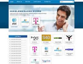 Nro 38 kilpailuun Projetar a Maquete de um Website for Consulting Company käyttäjältä online3