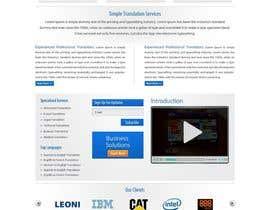 #49 for Projetar a Maquete de um Website for Consulting Company by logon1