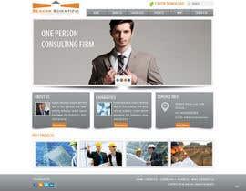 #52 for Projetar a Maquete de um Website for Consulting Company by logon1
