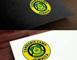 laurentiufilon tarafından Design a Logo for Cannabis Camp Jamaica için no 35