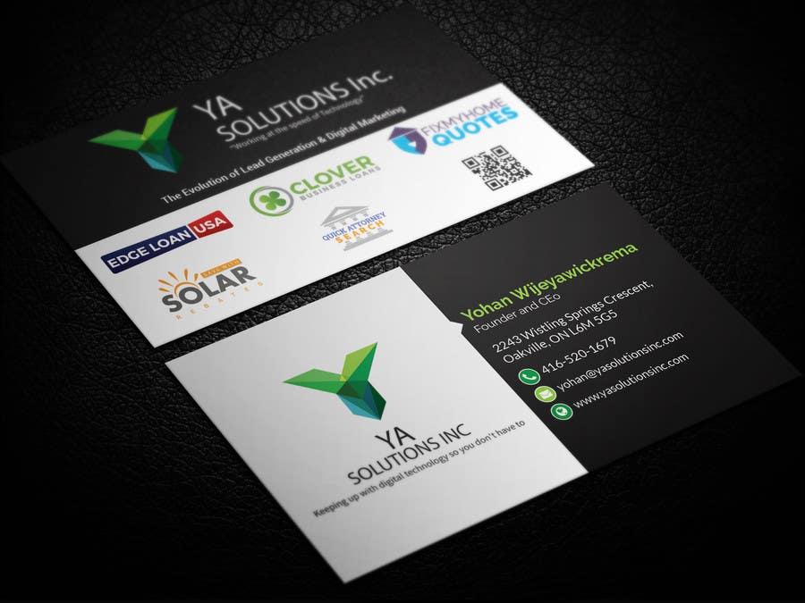 Entry #2 by smartghart for Fresh New Business Card Design | Freelancer