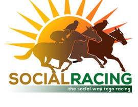 Nro 74 kilpailuun Logo Design for Social Racing käyttäjältä bhoyax