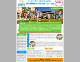 #7 para Design a Nursery Newsletter Template (email friendly) por siamtonsing19
