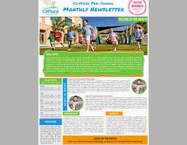 #10 for Design a Nursery Newsletter Template (email friendly) by siamtonsing19