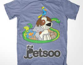#115 para T-shirt Design for Petsoo por bendstrawdesign