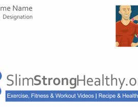 #22 untuk Design some Business Cards for SlimStrongHealthy.org oleh moilyp