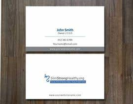 #14 untuk Design some Business Cards for SlimStrongHealthy.org oleh zarnabdurranisl