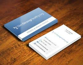 #26 untuk Design some Business Cards for SlimStrongHealthy.org oleh pointlesspixels