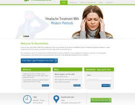 #9 for Design a Website Mockup for а Headache Center - Improve Current Design by atularora
