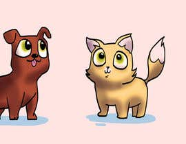 #11 untuk Concept art for a virtual pet game: kitten and puppy oleh Barney616