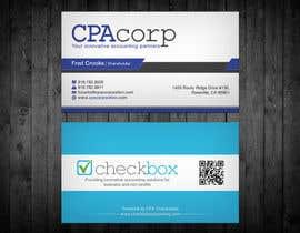 Cortana10 tarafından Design Double Sided Business Cards for Modern Accounting Firm için no 53