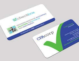 Design Double Sided Business Cards For Modern Accounting Firm
