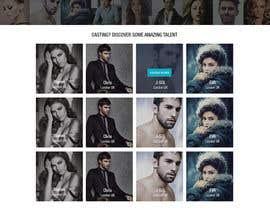 sandiplive tarafından Design a Fashion Website Mockup için no 14