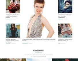 phantham tarafından Design a Fashion Website Mockup için no 11