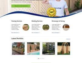 Nro 30 kilpailuun Design a Website Mockup for Fensitup käyttäjältä clickinn