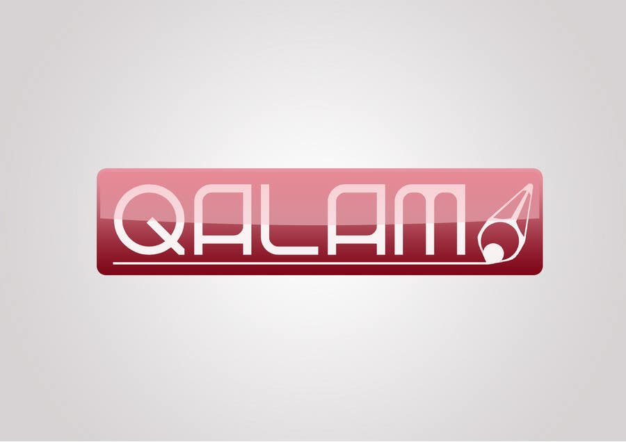 #203 for Logo Design for qalam by kasimir