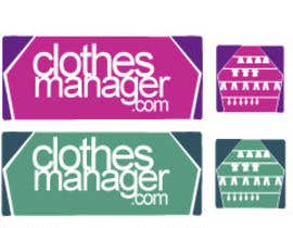 #170 pentru Logo Design for Clothes Manager App de către d2graphicdesign