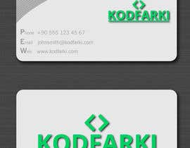 #22 para Design some Business Cards for KODFARKI por dulphy82