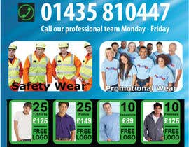 #2 para Design a marketing flyer for our workwear business por christyrajvel