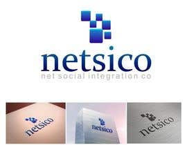 #113 for Design a Logo for Netsico by Rutvanrofik