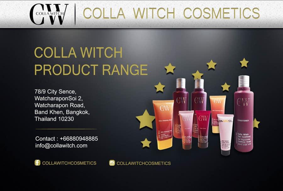 Penyertaan Peraduan #25 untuk Design an Advertisement for Cosmetic Products