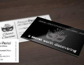 #50 cho Design some Business Cards for Covert Cuisine bởi agencja