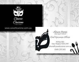 #58 for Design some Business Cards for Covert Cuisine af Sele2
