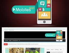 #18 para Design a Logo for Mobiles App por ervian13
