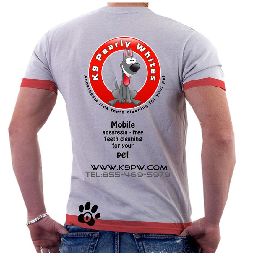 Proposition n°                                        50                                      du concours                                         T-shirt Design for K9 Pearly Whites