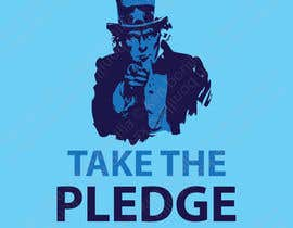 nº 3 pour Design a Take The Pledge T-shirt (Uncle Sam) par kenbonilla