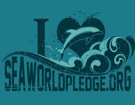 #44 untuk I Love Seaworld Pledge t-shirt oleh whykdesigns