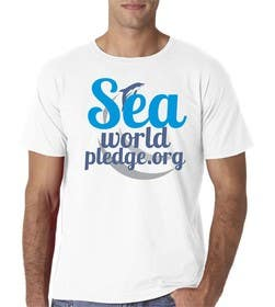 #43 para I Love Seaworld Pledge t-shirt por eltorozzz