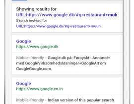 InfinityCreation tarafından iPhone and iPad Screen Banner with Google Search Results için no 12