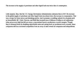 ssinghdagur tarafından Leadership and Management Challenges in the Current Oil & Gas Downturn için no 1