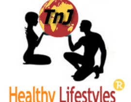 #150 para Logo for TnJ Healthy LifeStyles por marcoramix