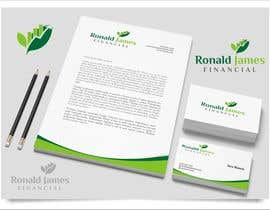 #137 for Design a Logo for Ronald James Financial by indraDhe